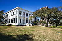 """The mansion is the oldest continuously inhabited house in Texas and fourth oldest governor's mansion in the United States that has been continuously occupied by a chief executive. The mansion was the first-designated Texas historic landmark, in 1962. It was listed in the National Register of Historic Places as """"Governor's Mansion"""" in 1970, and further was declared a U.S. National Historic Landmark in 1974."""