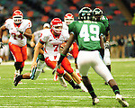 Football action between the Tulane Green Wave and Houston Cougars from the Louisiana Superdome on October 17, 2009.<br /> The 23rd ranked Cougars went on to defeat the Green Wave 44-16.