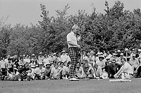 Jack Nicklaus at the 1975 Montreal Golf Open  (Exact date unknown).<br /> <br /> File Photo : Agence Quebec Presse - Alain Renaud