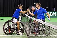 Rotterdam, The Netherlands, 16 Februari 2019, ABNAMRO World Tennis Tournament, Ahoy, Wheelchair singles, Final, Joachim Gerard (BEL),<br /> Photo: www.tennisimages.com/Henk Koster