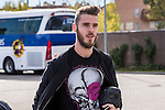 Spainsh David de Gea arriving at the concentration of the spanish national football team in the city of football of Las Rozas in Madrid, Spain. November 08, 2016. (ALTERPHOTOS/Rodrigo Jimenez)