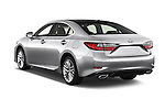 Car pictures of rear three quarter view of 2017 Lexus ES 350 4 Door Sedan 2WD Angular Rear