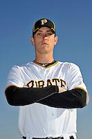 Feb 28, 2010; Bradenton, FL, USA; Pittsburgh Pirates  pitcher Jimmy Barthmaier (66) during  photoday at Pirate City. Mandatory Credit: Tomasso De Rosa/ Four Seam Images