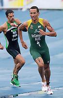 10 SEP 2011 - BEIJING, CHN - Chris McCormack (AUS) - 2011 Elite Mens ITU World Championship Series Grand Final Triathlon .(PHOTO (C) NIGEL FARROW)