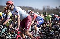Nils Politt (GER/Team Katusha Alpecin) <br /> <br /> 62nd E3 Harelbeke 2019 (1.UWT)<br /> Harelbeke – Harelbeke: 203,9km<br /> ©kramon