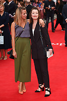 """Lesley Manville<br /> arriving for the premiere of """"The Children Act"""" at the Curzon Mayfair, London<br /> <br /> ©Ash Knotek  D3420  16/08/2018"""