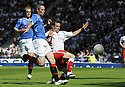 30/05/2009  Copyright  Pic : James Stewart.sct_jspa_04_rangers_v_falkirk.DAVID WEIR CLEARS FROM STEVE LOVELL.James Stewart Photography 19 Carronlea Drive, Falkirk. FK2 8DN      Vat Reg No. 607 6932 25.Telephone      : +44 (0)1324 570291 .Mobile              : +44 (0)7721 416997.E-mail  :  jim@jspa.co.uk.If you require further information then contact Jim Stewart on any of the numbers above.........
