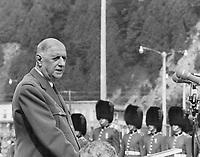 July 1967 FILE -<br /> <br /> <br /> De Gaulle; Charles (portraits)<br /> <br /> <br /> Griffin, Doug<br /> Picture, Date Unknown