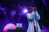 Zach Zoya performs at the Festival d'ete de Quebec (Quebec Summer Festival) on July 12, 2018. THE CANADIAN PRESS IMAGES/Francis Vachon