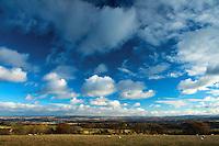 Looking across Lothian from near Boghall, The Pentland Hills, The Pentland Hills Regional Park, Lothian