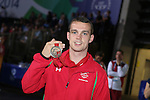 Glasgow 2014 Commonwealth Games<br /> <br /> Sean McGoldrick with his bronze medal.<br /> <br /> 02.08.14<br /> ©Steve Pope-SPORTINGWALE