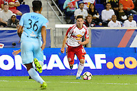 Harrison, NJ - Thursday Sept. 15, 2016: Alex Muyl during a CONCACAF Champions League match between the New York Red Bulls and Alianza FC at Red Bull Arena.