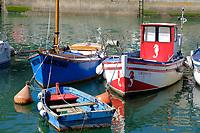 Europe/France/Normandie/76/Seine Maritime/ Le Havre : , Grand port maritime du Havre , Bassin du roy et bateaux de pêche  //  Europe/France/Normandy/76/Seine Maritime/Europe / France / Normandy / 76 / Seine Maritime / Le Havre:, Port of Le Havre, King's basin and fishing boats