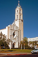San Diego: The University of San Diego Campus.  Linear campus. Photo '95.