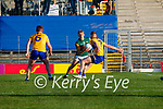 Killian Spillane, Kerry, during the Munster Football Championship game between Kerry and Clare at Fitzgerald Stadium, Killarney on Saturday.
