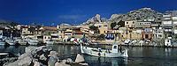 Europe/France/Provence-Alpes-Côte d'Azur/13/Bouches-du-Rhône/Marseille:Le port des Goudes
