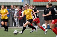 Katie Barrott of Capital during the ISPS Handa Women's Premiership - Capital Football v Canterbury Utd Pride at Petone Memorial Park, Wellington on Saturday 5 December 2020.<br /> Copyright photo: Masanori Udagawa /  www.photosport.nz