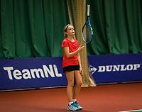 Wateringen, The Netherlands, November 27 2019, De Rhijenhof , NOJK 12/16 years,  Senne Janssen (NED)<br /> Photo: www.tennisimages.com/Henk Koster