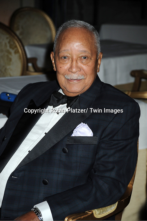 honoree David Dinkins attends The 2011 Living Landmarks Celebration presented by The New York Landmarks Conservancy on ..November 2, 2011 at The Plaza Hotel in New York City.  ..The honorees are Lewis B Cullman, Louise Kerz Hirschfeld, Angelia Lansbury, Danny Meyer and Regis Philbin.