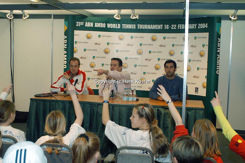 20040218, Rotterdam, ABNAMRO WTT, Kids press conference