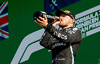 12th September, September 2021; Nationale di Monza, Monza, Italy; FIA Formula 1 Grand Prix of Italy; 77 Valtteri Bottas FIN, Mercedes-AMG Petronas F1 Team, 3rd place in the F1 Grand Prix of Italy