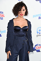 Raye<br /> poses on the media line before performing at the Summertime Ball 2019 at Wembley Arena, London<br /> <br /> ©Ash Knotek  D3506  08/06/2019