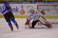 IJSHOCKEY: HEERENVEEN, 12-10-2019, IJsstadion Thialf, UNIS Flyers - Hijs Hokij Den Haag, eindstand 1-1, UNIS Flyers wint na penaltyshots, winnende goal, 37# Juha Kiilholma, ©foto Martin de Jong