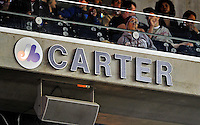 29 September 2010: Baseball Hall of Fame Member and former catcher with the Montreal Expos, Gary Carter has his name enshrined on the Ring of Fame at Nationals Park in Washington, DC. The Philadelphia Phillies defeated the Washington Nationals 7-1 to take the rubber game of their 3-game series. Mandatory Credit: Ed Wolfstein Photo