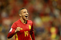 Spain's Rodrigo Moreno celebrates goal during FIFA World Cup 2018 Qualifying Round match. October 6,2017.(ALTERPHOTOS/Acero) /NortePhoto.com /NortePhoto.com