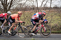Jasper de Buyst (BEL/Lotto-Soudal)<br /> <br /> 44th AG Driedaagse Brugge-De Panne 2020 (1.UWT)<br /> 1 day race from Brugge to De Panne (203km shortened to 188km due to the windy weather conditions) <br /> <br /> ©kramon