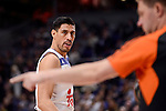 Real Madrid's Gustavo Ayon during Turkish Airlines Euroleage match between Real Madrid and EA7 Emporio Armani Milan at Wizink Center in Madrid, Spain. January 27, 2017. (ALTERPHOTOS/BorjaB.Hojas)