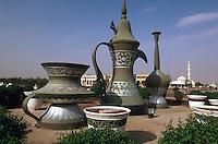 Vereinigte arabische Emirate (VAE, UAE), Abu Dhabi, Kreisverkehr bei Al Ain