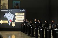 SÃO PAULO, SP, 09.06.2021 - COVID-19-SP - Jean Carlo Gorinchteyn, Secretário Estadual de Saúde de São Paulo, participa de apresentação de informações sobre o combate ao coronavírus (COVID-19) em São Paulo, no Palácio dos Bandeirantes, nesta quarta-feira, 9. (Foto Charles Sholl/Brazil Photo  Press)