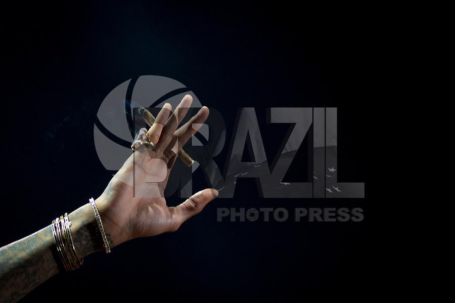 SÃO PAULO,SP, 25.03.2018 - LOLLAPALOOZA 2018 – Wiz Khalifa se apresenta no festival Lollapalooza 2018, realizado no Autódromo de Interlagos em São Paulo, na tarde deste domingo, 25. (Foto: Levi Bianco/Brazil Photo Press)