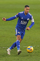 Youri Tielemans of Leicester City and Belgium during Brentford vs Leicester City, Emirates FA Cup Football at the Brentford Community Stadium on 24th January 2021