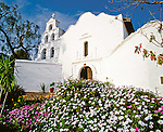 San Diego Mission, the first historic mission on the California chain