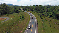 The John Warner parkway located in Charlottesville, Virginia. Photo/Andrew Shurtleff