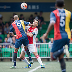 Ajax All Stars vs USRC during the Masters of the HKFC Citi Soccer Sevens on 21 May 2016 in the Hong Kong Footbal Club, Hong Kong, China. Photo by Lim Weixiang / Power Sport Images