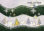 Isabella, CHRISTMAS SYMBOLS, corporate, paintings(ITKE501960,#XX#) Symbole, Weihnachten, Geschäft, símbolos, Navidad, corporativos, illustrations, pinturas