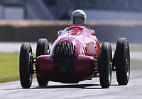 9th July 2021;  Goodwood  House, Chichester, England; Goodwood Festival of Speed; Day Two; Julian Majzib drives a 1938 Alfa Romeo 308C in the Goodwood Hill Climb