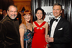 Bob and Gracie Cavnar with Susie and Sanford Criner at the Ballet Ball at the Wortham Theater Saturday  Feb. 16,2008.(Dave Rossman/For the Chronicle)