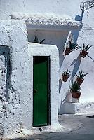 Spanien, Andalusien, Wohnhöhlen auf dem Sacromonte in Granada
