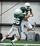 Images from Tulane Football Camp-2014, leading up to the first game of the season.