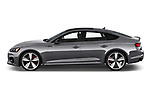 Car Driver side profile view of a 2019 Audi RS-5-Sportback - 5 Door Hatchback Side View