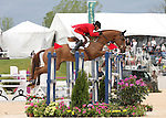 26 April 2010. Woodburn and Phillip Dutton finish second in the 2010 Rolex Three Day event in Lexington, KY.
