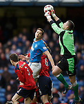 Neil Parry saves from Jon Daly