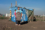 Homeless invades land in Argentina by Jeremias Gonzalez