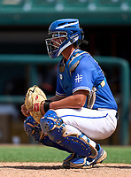 Tampa Jesuit Tigers Cole Russo (22) during the 42nd Annual FACA All-Star Baseball Classic on June 6, 2021 at Joker Marchant Stadium in Lakeland, Florida.  (Mike Janes/Four Seam Images)