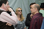 WPT CEO Steve Lipscomb talks to actors Richard Kind and Anne Heche.