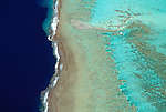 Aerial landscape, Bora Bora, French Polynesia